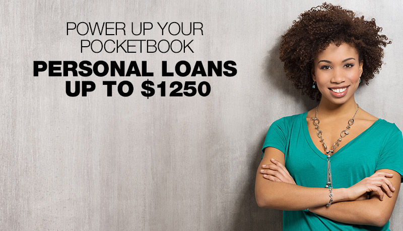 Personal Loans Up To $1250